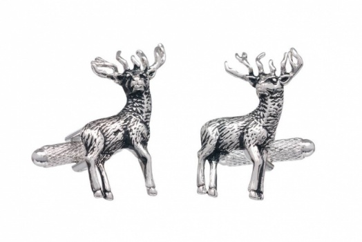 Stag With Antlers Cufflinks